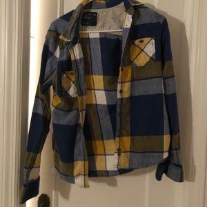 American Eagle - Plaid flannel shirt